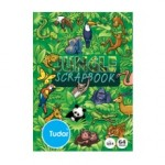 TUDOR SCRAP BOOK JUNGLE JOKER 335x240mm 64pg