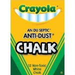 CRAYOLA DUSTLESS CHALK 100pc