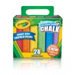 Crayola SIDEWALK CHALK 24pc asstd