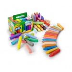 Crayola SIDEWALK CHALK 48pc asstd