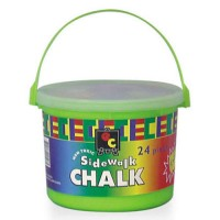 E.C. SIDE WALK BUCKET CHALK 24pc