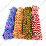 PIPE CLEANERS CHENILLE STEMS animal stripe