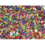 GLITTER SHAPES asstd colours 5x25g packs