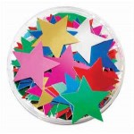 Scatters Stars Asstd Colours 25g