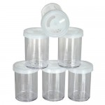 GLITTER Empty Shaker Jar 6pc