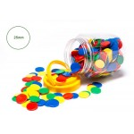 COUNTERS 25mm 4 COLOURS 400pc