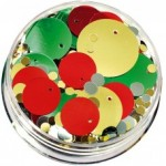 SEQUINS IN A JAR XMAS 100gm asstd
