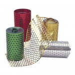 HONEYCOMB MESH Gold 10cmx10m