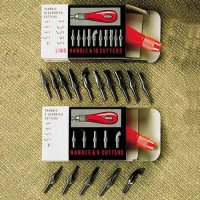 LINO TOOLS & CUTTERS LA 25/5 Boxed-5 types 25pc