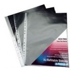FOLDERMATE A3 DISPLAY BOOK REFILL SLEEVES 10pc