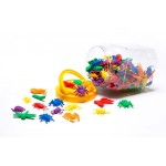 COUNTERS GARDEN BUG 12 SHAPES 6 COLOURS 144pc