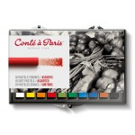 Conte Pastel Sets Artists Chalk 12pc