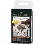 Faber Castell Pitt Artist Big Brush Pen Sets 6pc