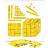 FOAM MAGNETIC BASE TEN BLOCK SET