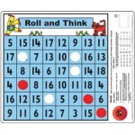 ROLL and THINK MATH DESK GAME Mat 33x28cm
