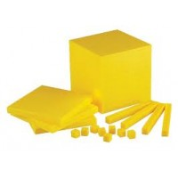 BASE TEN BLOCKS PLASTIC BASE TEN SET