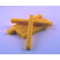 BASE TEN BLOCKS PLASTIC BASE TEN RODS (TENS)