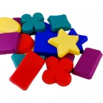 SAND MOULDS 4 Colours 16pc