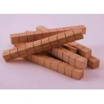 BASE TEN BLOCKS WOODEN BASE TEN RODS