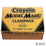 CRAYOLA MODEL MAGIC 1oz 75pc