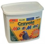 CRAYOLA MODEL MAGIC 4 colours  Bucket 907gm