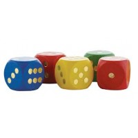 GIANT WOODEN DICE 16pc
