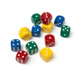 DICE 15mm 12pc