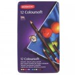 DERWENT COLOURSOFT PENCILS 12pc