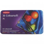 DERWENT COLOURSOFT PENCILS 36pc