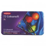 DERWENT COLOURSOFT PENCILS 72pc