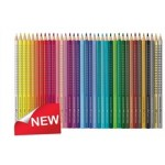 FABER CASTELL COLOURED PENCILS GRIP Triangular ClassPack 240pc asstd