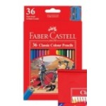 FABER CASTELL COLOURED PENCILS RED RANGE 36pc asstd