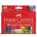 FABER CASTELL COLOURED PENCILS RED RANGE 48pc asstd