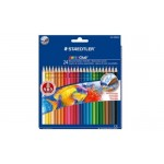 STAEDTLER Noris Club Aquarell Watercolour Pencil 24pc