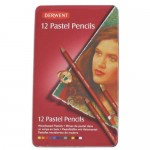DERWENT COLOURED PASTEL PENCILS 12pc asstd