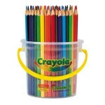 CRAYOLA TRIANGULAR COLOURED PENCILS 48pc