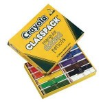 CRAYOLA TRIANGULAR COLOURED PENCILS ClassPack 240pc