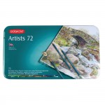 DERWENT ARTISTS COLOURED PENCILS 72pc asstd