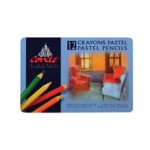 CONTE PASTEL PENCILS 12pc asstd
