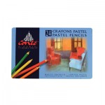 CONTE PASTEL PENCILS 24pc asstd
