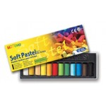 MUNGYO SOFT SQUARE PASTELS 12pc asstd