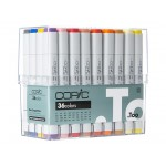 COPIC SKETCH MARKERS Set 12pc