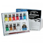 Winsor & Newton Artisan Water Mixable Oil Colour Studio Set 10x37ml paints plus