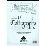Arttec CALLIGRAPHY Pad Asstd A4 50sh