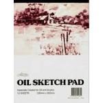 OIL SKETCH PAD A5 12sh