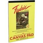Fredrix CANVAS PAD  9x12in 10sh