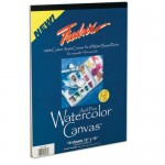 WATER COLOUR CANVAS PAD 9x12in 10sh