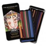 Prismacolor Soft Core Coloured Pencils Tin 24pc