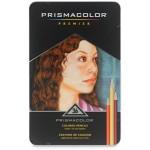 Prismacolor Soft Core Coloured Pencils Tin 36pc