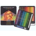 Prismacolor Soft Core Coloured Pencils Tin 48pc
